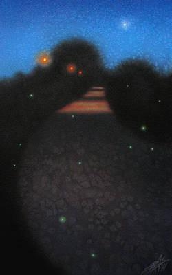 Painting - Blue Hour II by Robin Street-Morris