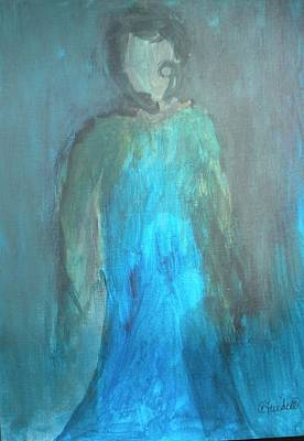 Painting - Blue Lady by Andrea Friedell