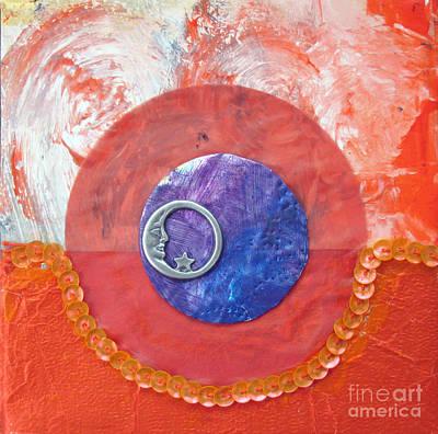 Blue Moon Original by Ellen Miffitt