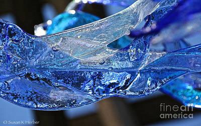 Photograph - Blue Blue by Susan Herber