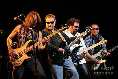 Blue Oyster Cult Photograph - Blue Oyster Cult by Concert Photos