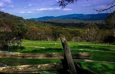Photograph - Blue Ridge Mountains Nc by Bob Pardue