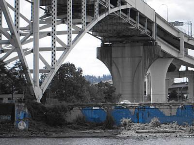 Photograph - Blue by Sara Stevenson