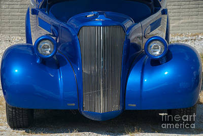 Photograph - Blue Street Rod by Mark Dodd