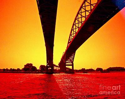 Photograph - Blue Water Bridge by Randy J Heath