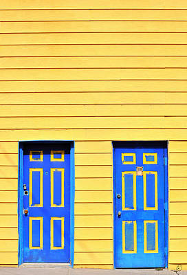 Photograph - Blue Yellow by Emily Stauring