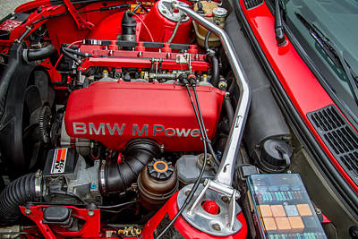 Photograph - Bmw M Power Engine by Roger Mullenhour