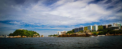 Photograph - Boa Viagem Island In Niteroi by Celso Diniz