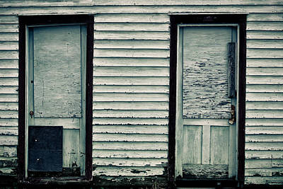 Photograph - Boarded Up by Colleen Kammerer
