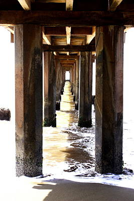 Boardwalk Art Print by Ange Sylvestri