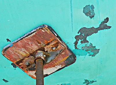 Photograph - Boat Abstract #10 by Diana Angstadt