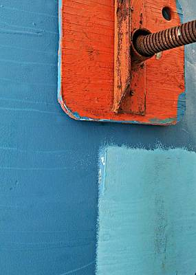 Poppet Photograph - Boat Abstract #11 by Diana Angstadt