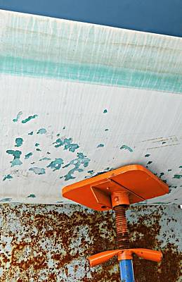 Photograph - Boat Abstract #8 by Diana Angstadt