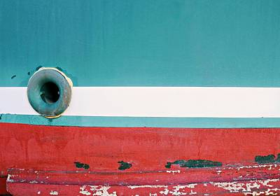Photograph - Boat Abstract #9 by Diana Angstadt