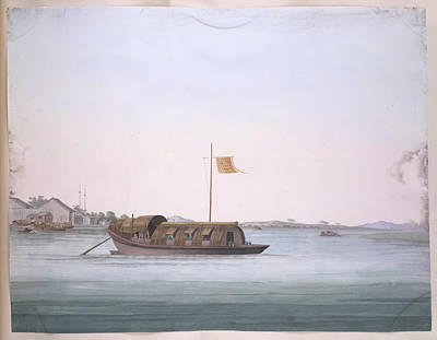 Gouache Photograph - Boat by British Library