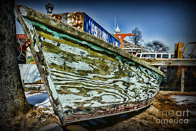 Boat Forever Dry Docked Art Print by Paul Ward