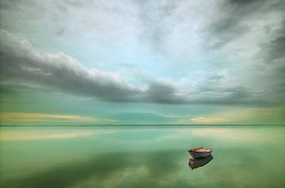 Harmony Wall Art - Photograph - Boat... by Krzysztof Browko