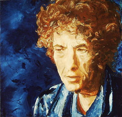 Bob Dylan Art Print by Willem Arendsz