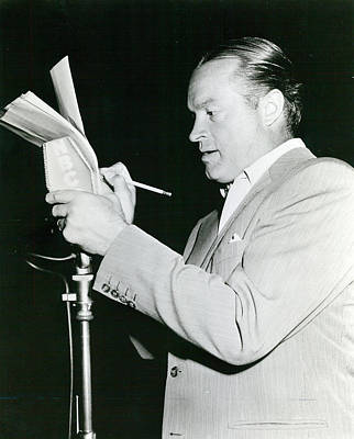 Comedian Photograph - Bob Hope by Retro Images Archive