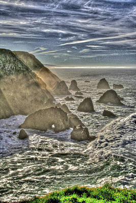 Photograph - Bodega Head by SC Heffner