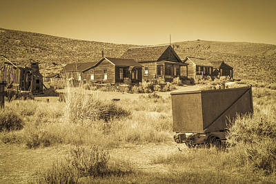 Photograph - Bodie Ghost Town by Susan Leonard