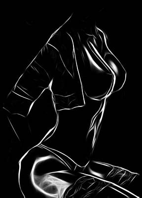 Female Body Digital Art - Body Of Desire by Steve K