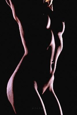 Body Waves 2 Art Print by Piety Dsilva