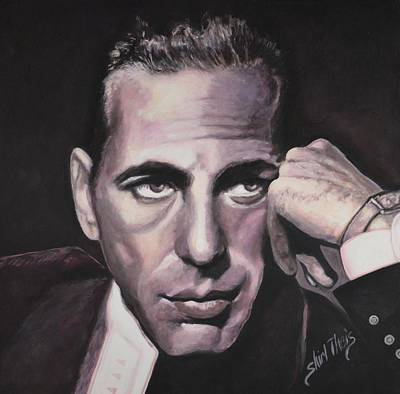 Humphrey Painting - Bogie by Shirl Theis