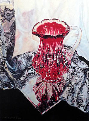 Painting - Bohemian Pitcher by Linda Becker