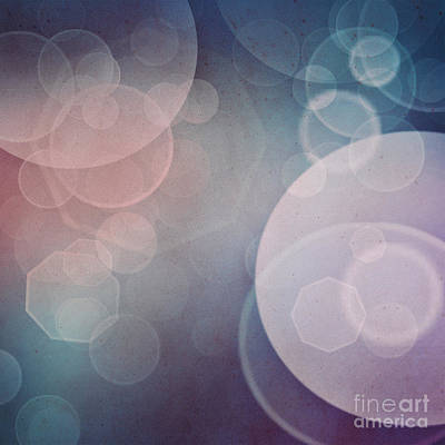 Mythja Digital Art - Bokeh Background by Mythja  Photography