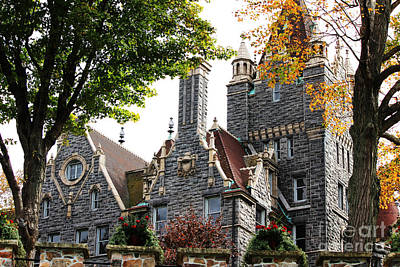 Boldt Castle Art Print by Tony Cooper
