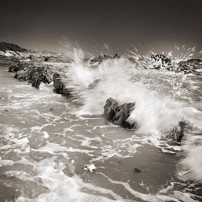 Bolonia Waves Art Print by Guido Montanes Castillo
