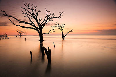 Photograph - Boneyard Beach Sunrise by Bernard Chen