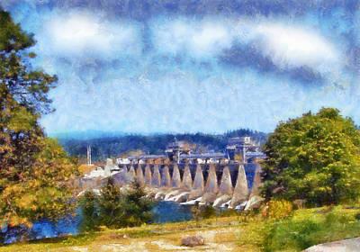 Farmhouse - Bonneville Dam by Kaylee Mason