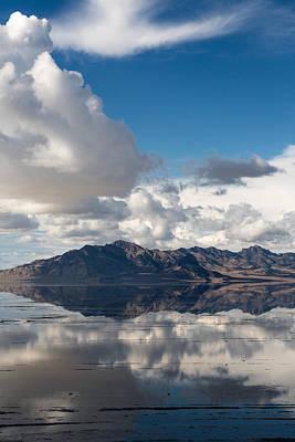 Photograph - Bonneville Salt Flats  by Susan Leonard