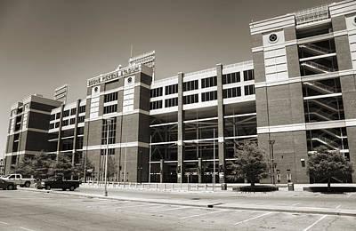 Oklahoma State University Photograph - Boone Pickens Stadium by Ricky Barnard
