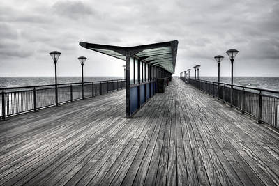 Bournemouth Photograph - Boscombe Pier - Bournemouth by Joana Kruse