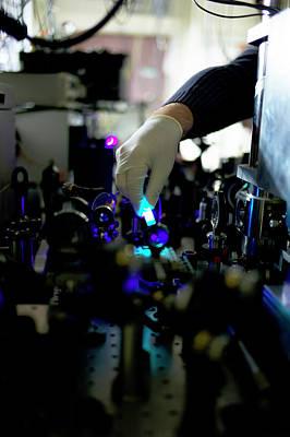 Bose-einstein Condensate Art Print by Ibm Research