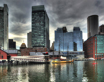 Photograph - Boston 4014 by Jeff Stallard