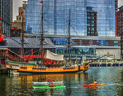 Photograph - Boston 4015 by Jeff Stallard
