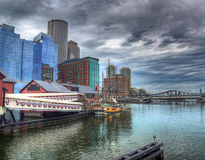 Photograph - Boston 4018 by Jeff Stallard