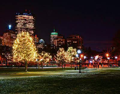 Photograph - Boston 4022 by Jeff Stallard