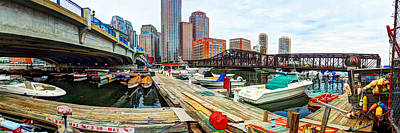 Beers On Tap - Boston 4023 by Jeff Stallard