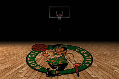 Boston Celtics Art Print by Joe Hamilton