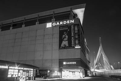 Photograph - Boston Garden And Bunker Hill Bridge  by John McGraw