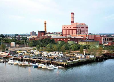Photograph - Boston Harbor by Kristin Elmquist