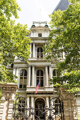 Spot Of Tea Royalty Free Images - Boston Old City Hall Royalty-Free Image by Beverly Tabet