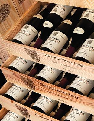 Bottles Of Vosne-romanee Premier Cru Cros Parantoux Print by Anonymous