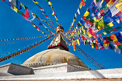Photograph - Boudhanath Stupa by Ulrich Schade