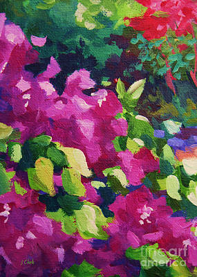 Andre Painting - Bougainvillea  by John Clark